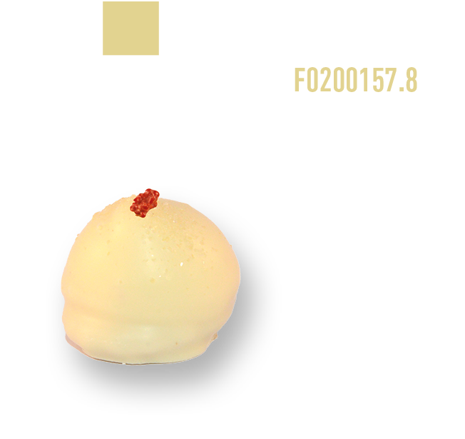 Marshmallow White Red Fruit